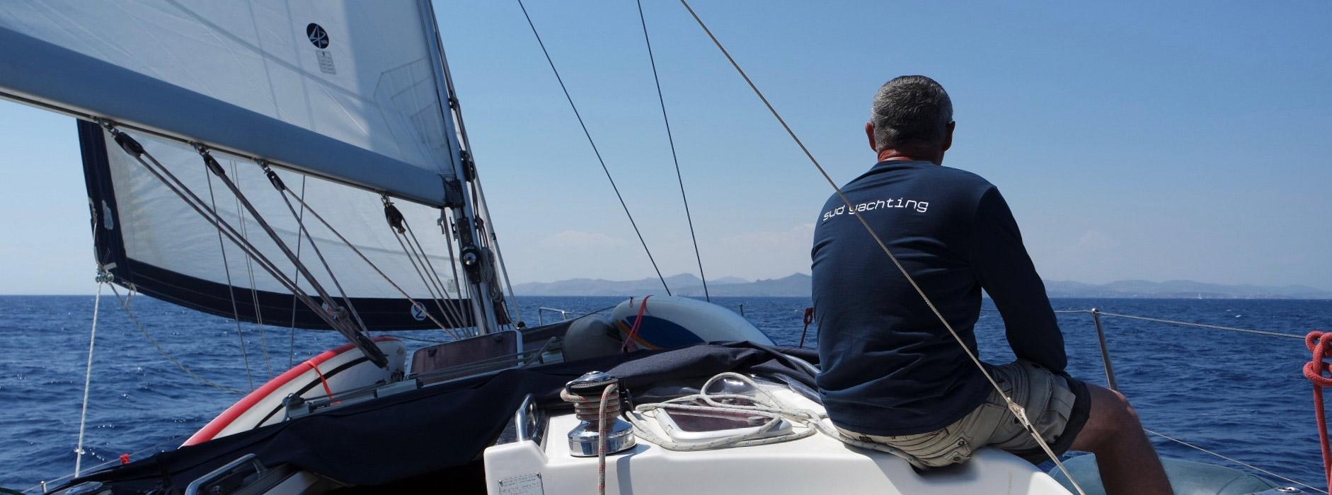 Le formateur Sud Yachting est aussi skipper