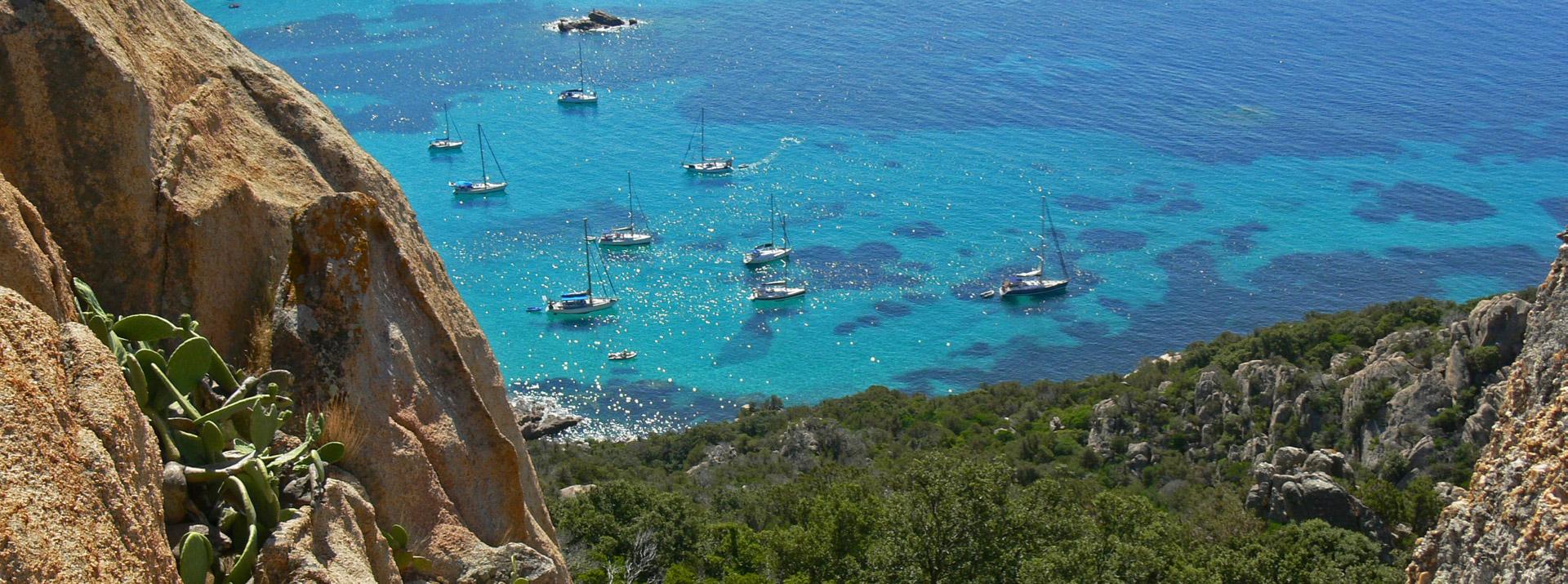 photo d'une croisiere Sud yachting en Corse