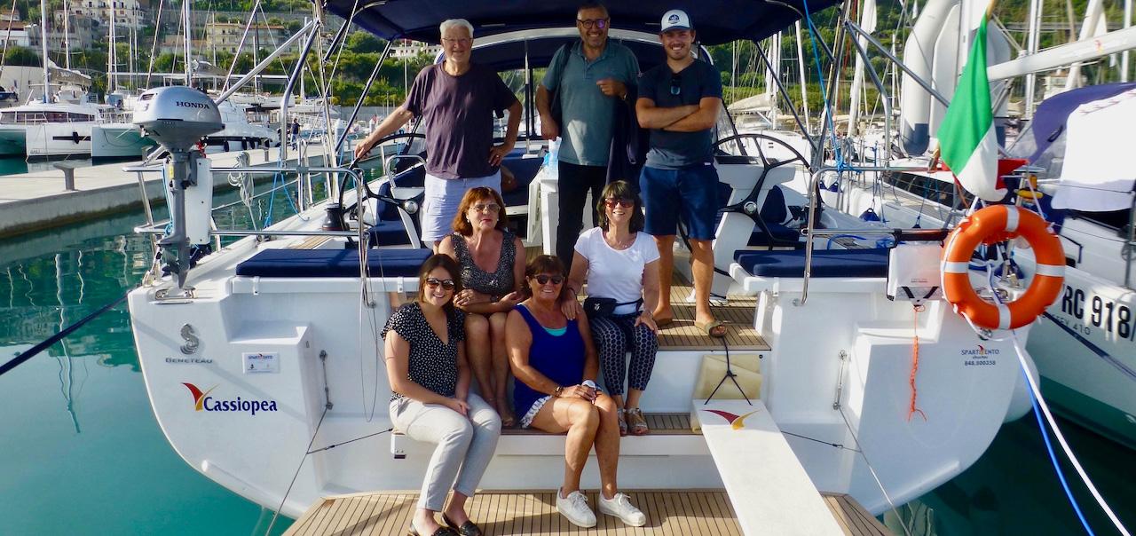 Comment se déroule une croisière en voilier Sud yachting ?