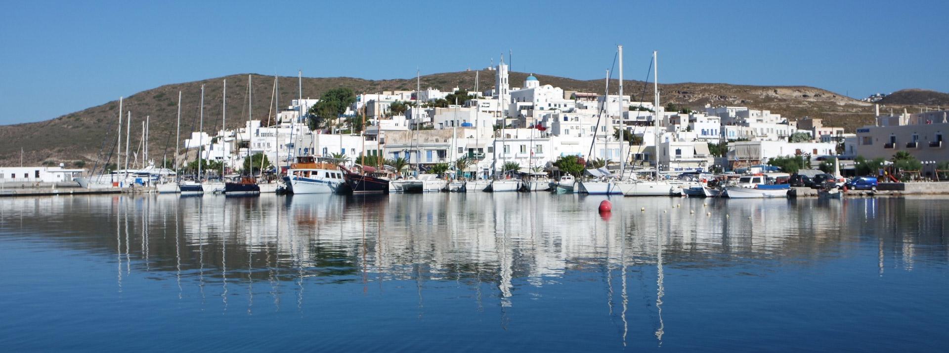 croisiere en grece, arrivée au port à la voile