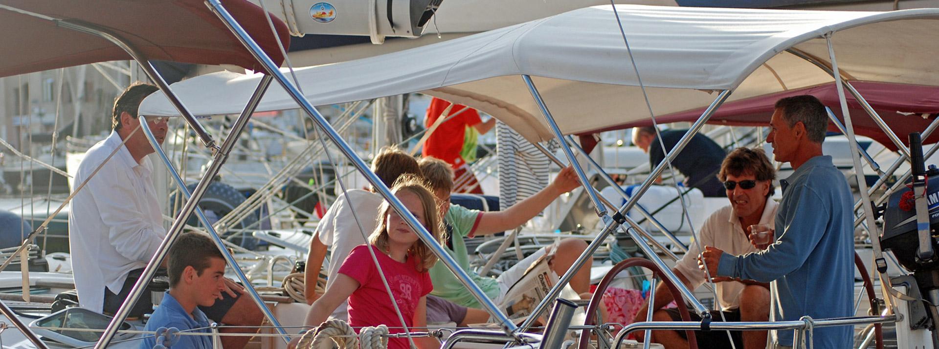 La sécurité à bord d'un voilier Sud Yachting