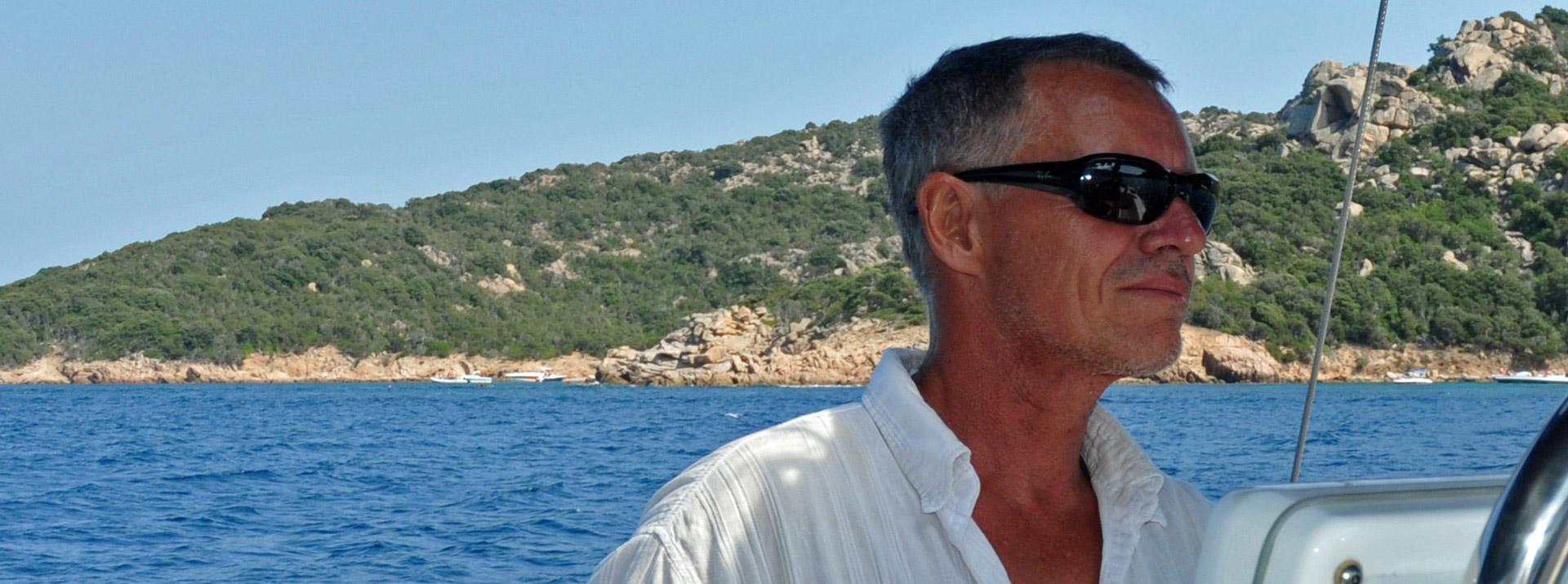 François Bernon, skipper Sud Yachting
