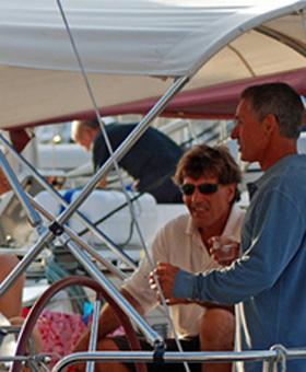 La vie à bord du voilier Sud Yachting